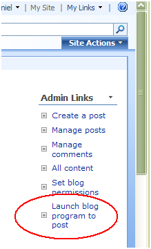 sharepoint-blog-admin-links-part